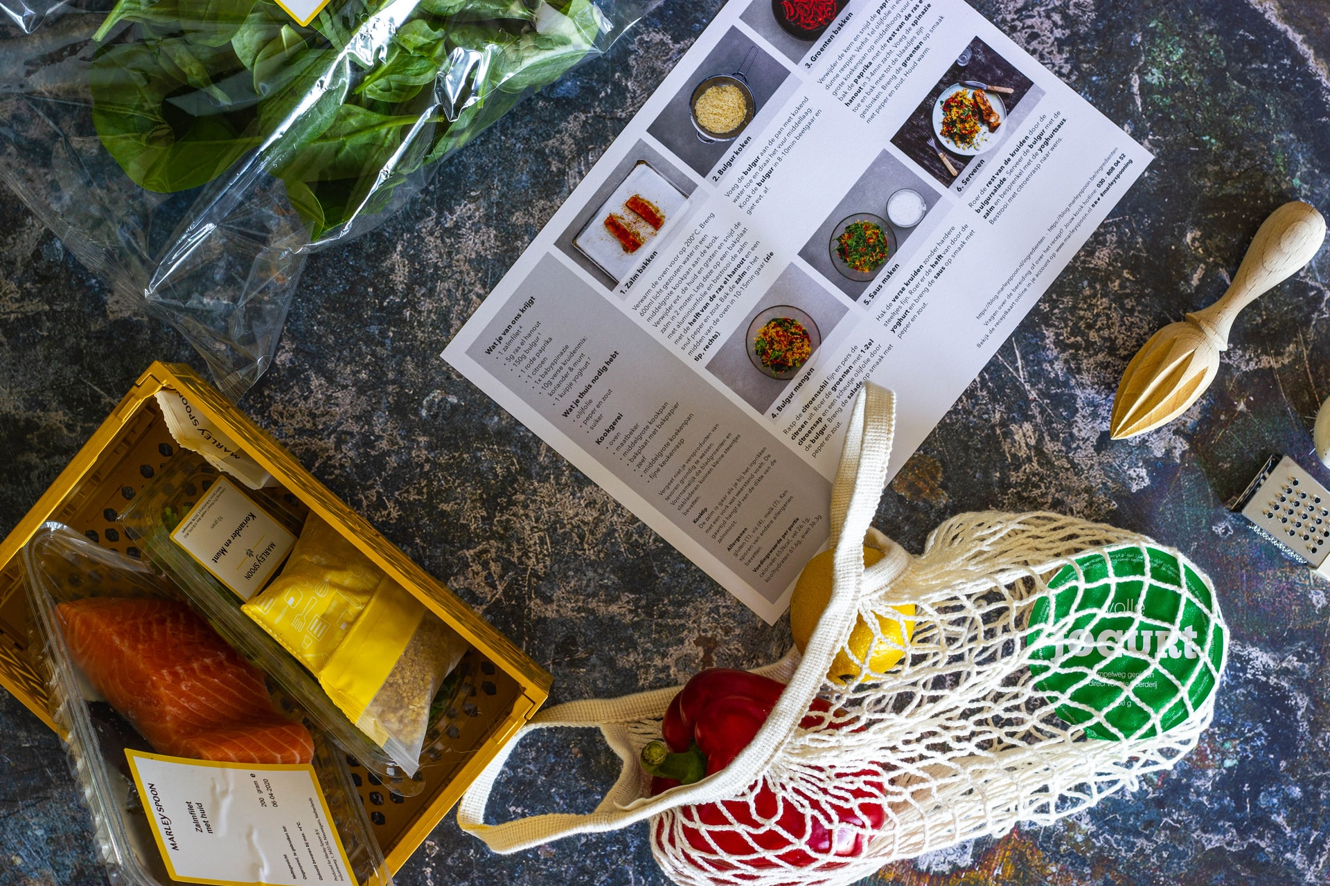 organizzare la cucina